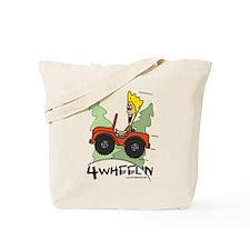 Fidget Four Wheeling Tote Bag