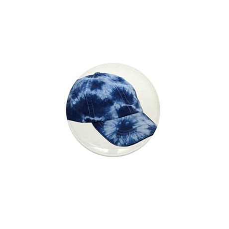 Tie dye hat Mini Button (100 pack)
