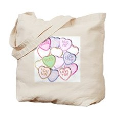 Candy Valentine Tote Bag
