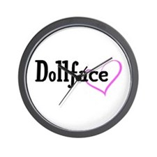 Dollface Wall Clock