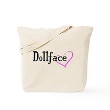 Dollface Tote Bag