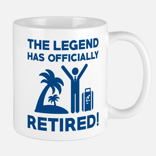 Officially Retired Mug