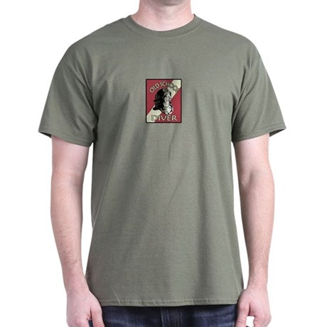 OLD SCHOOL DIVER Dark T-Shirt