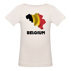 Map Of Belgium Tee