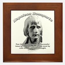 Napoleon Bonaparte 01 Framed Tile