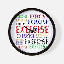 EXERCISE WINNER Wall Clock