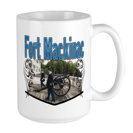 FORT MACKINAC08 Large Mug