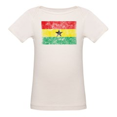 Vintage Ghana Flag Tee