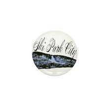 Ski Park City Mini Button