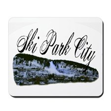 Ski Park City Mousepad