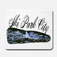 Ski Park City Mousepad