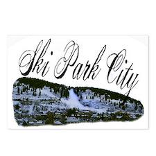 Ski Park City Postcards (Package of 8)