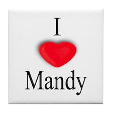 Mandy Tile Coaster