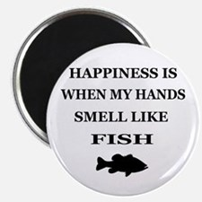HAPPINESS IS WHEN... Magnet
