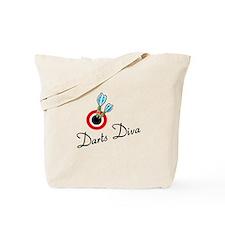 Darts Diva Tote Bag