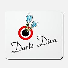 Darts Diva Mousepad