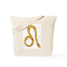 Leo Zodiac Symbol Tote Bag