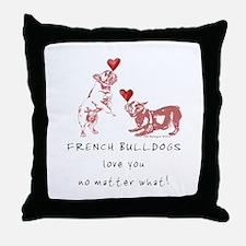 No Matter What (PINK) Throw Pillow