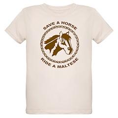 Ride A Maltese T-Shirt