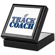 Track Coach wf Keepsake Box