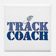 Track Coach wf Tile Coaster