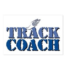 Track Coach wf Postcards (Package of 8)