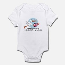 Stork Baby UK USA Infant Bodysuit