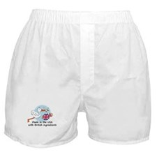 Stork Baby UK USA Boxer Shorts