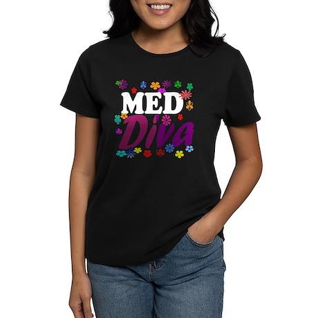 Med Diva Women's Dark T-Shirt