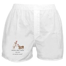 No Matter What (LATTE) Boxer Shorts