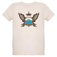 San Marino Emblem Organic Kids T-Shirt