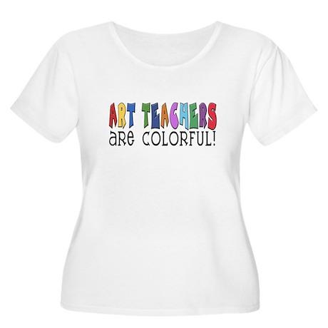 Art Teachers Women's Plus Size Scoop Neck T-Shirt