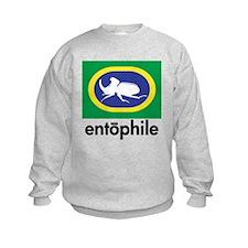 Rhino Beetle Blue Sweatshirt