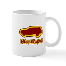 Nice Wagon Small Mug
