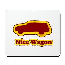 Nice Wagon Mousepad
