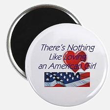 Love American Girl Magnet
