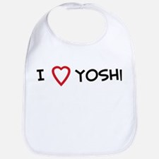 I Love Yoshi Bib