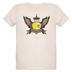 Vatican City Emblem Organic Kids T-Shirt