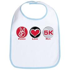 Peace Love Run 5K Bib