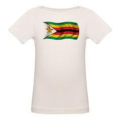 Wavy Zimbabwe Flag Tee