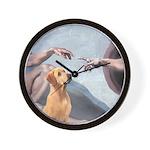 Creation/Labrador (Y) Wall Clock