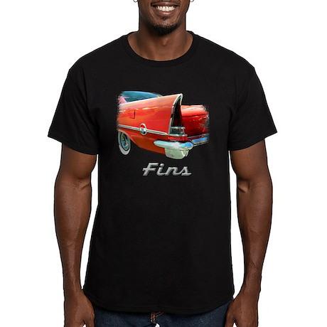 57 Chrysler 300 Men's Fitted T-Shirt (dark)