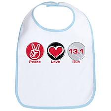 Peace Love Run 13.1 Bib