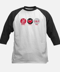 Peace Love Run 13.1 Tee