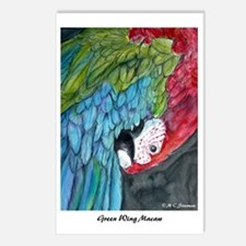 Macaw, Postcards (Package of 8), Parrot