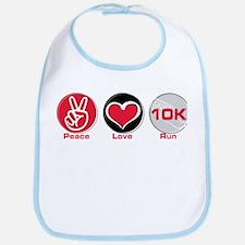 Peace Love Run 10K Bib