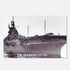 USS FRANKLIN Postcards (Package of 8)