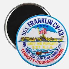 USS FRANKLIN Magnet
