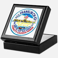 USS FRANKLIN Keepsake Box