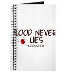 Blood Never Lies Journal
